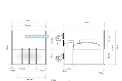 skema kotak speaker ukuran 18inch terbaru dari hazamusik