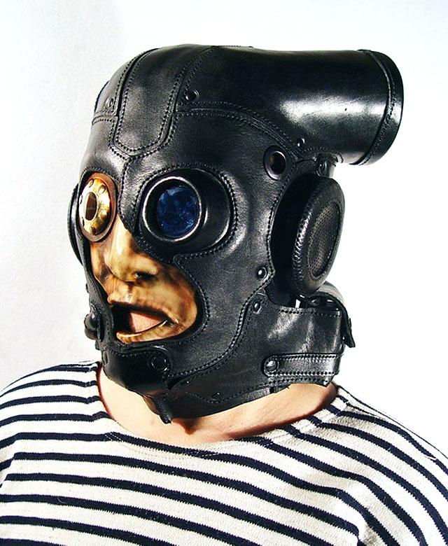 Дизайнерский противогаз Боб Бассет | Bob Basset gas mask