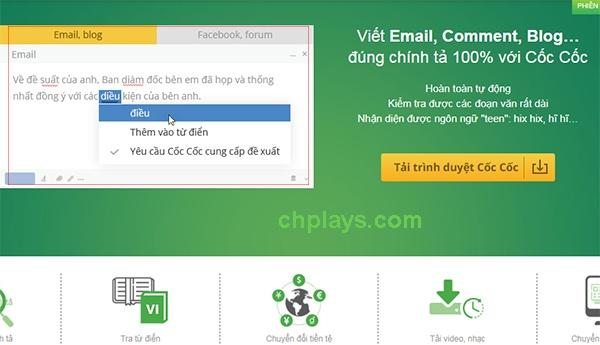 Download Cốc Cốc - Trình duyệt Cốc Cốc, lướt web, tải file nhanh, nhẹ 7