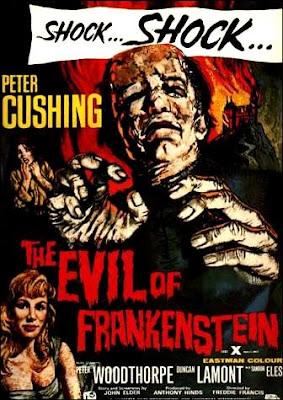 El Castigo de Frankenstein (1964) de Freddie Francis