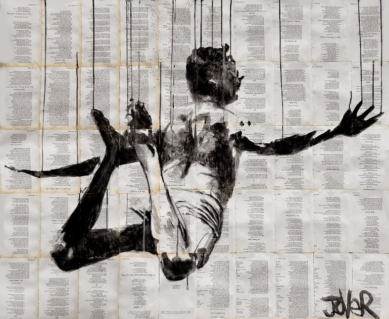 18-Icarus-Loui-Jover-Drawings-on-Book-Pages-www-designstack-co