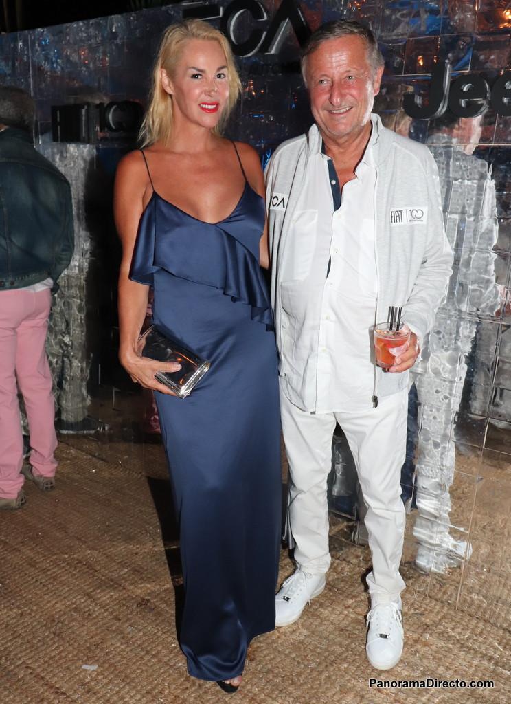 Andrea Garmendia y Cristiano Ratazzi