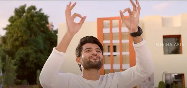 Vijay devarakonda white shirt