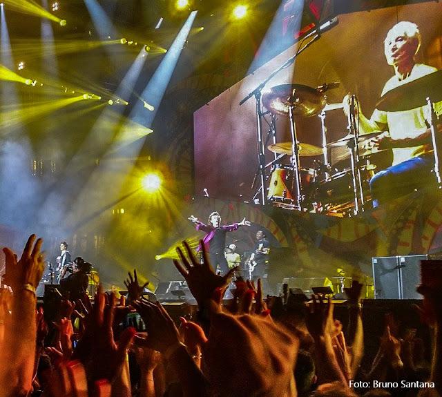Show dos Rolling Stones no Rio 2016