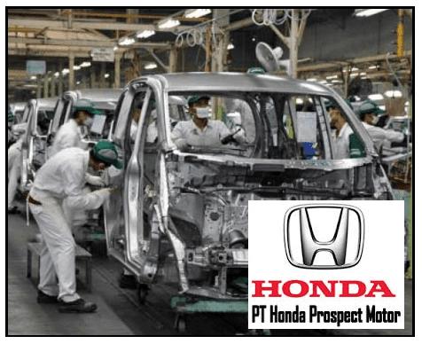 Lowongan kerja  PT Honda Prospect Motor Desember 2020
