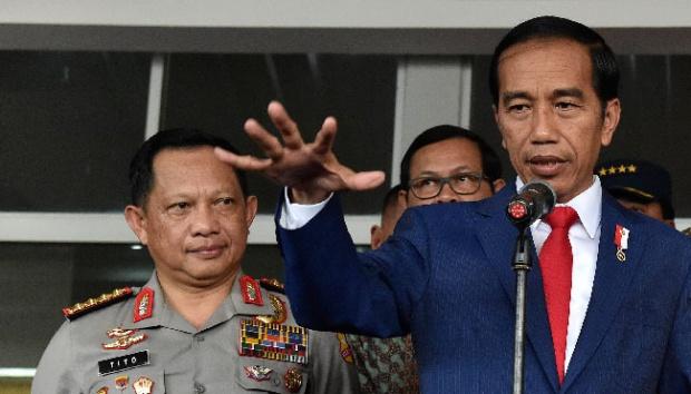 Kapolri: Isu Rohingya Digunakan untuk Menyerang Pemerintah Jokowi