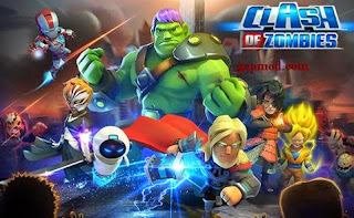 Download X-War: Clash of Zombies v1.0 Apk