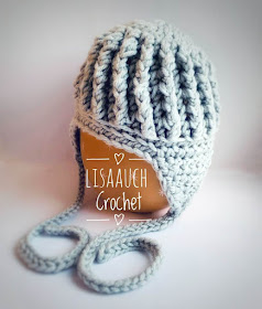 crochet baby ribbed hat pattern free