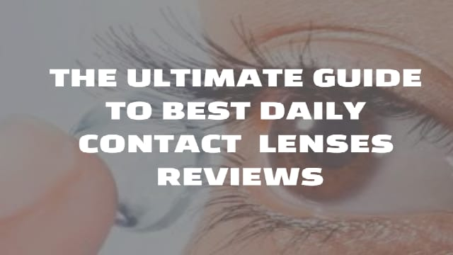 Top 10 daily contact lenses