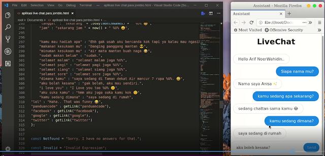 Membuat Aplikasi Live Chat Para Jomblo