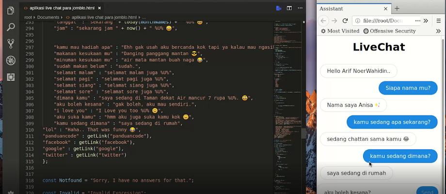 Membuat Aplikasi Live Chat Para Jomblo Dengan JavaScript Terbaru