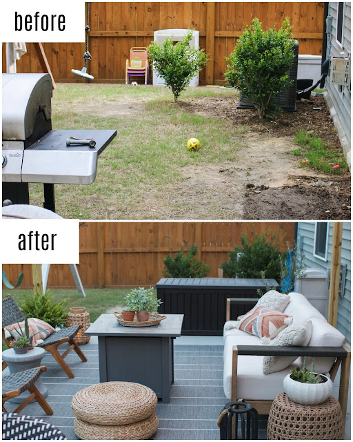 Affordable Patio Makeover