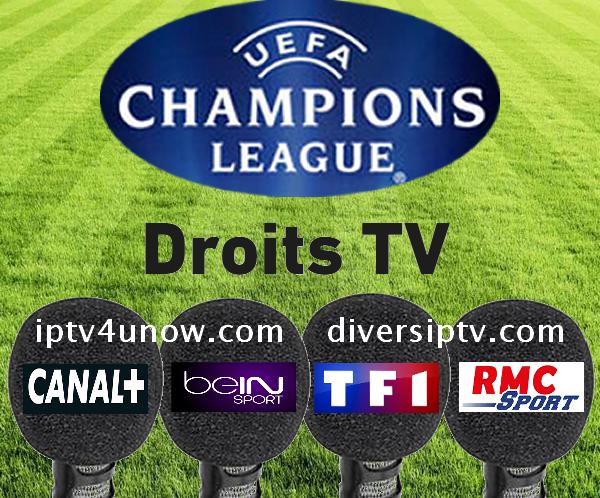حقوق التلفزيون: دوري الأبطال Canal + ، beINSports , TF1, RMC Sport