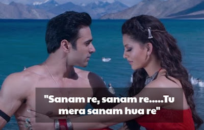 Sanam Re Song Line for Status, Sanam Re Song Lines Status