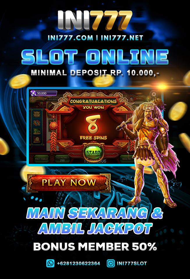 ini777 judi slot online deposit pulsa