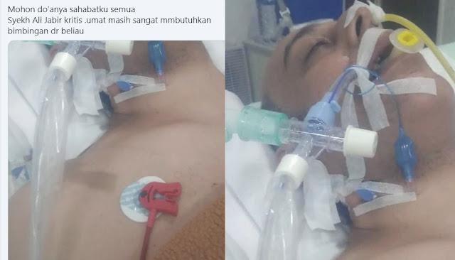 Syekh Ali Jaber Dikabarkan Kritis Hingga Tak Sadarkan Diri, Netizen Berbondong-bondong Kirim Doa