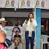 La Esmeralda recibió a la candidata del pueblo, Rosalba Joaquí.