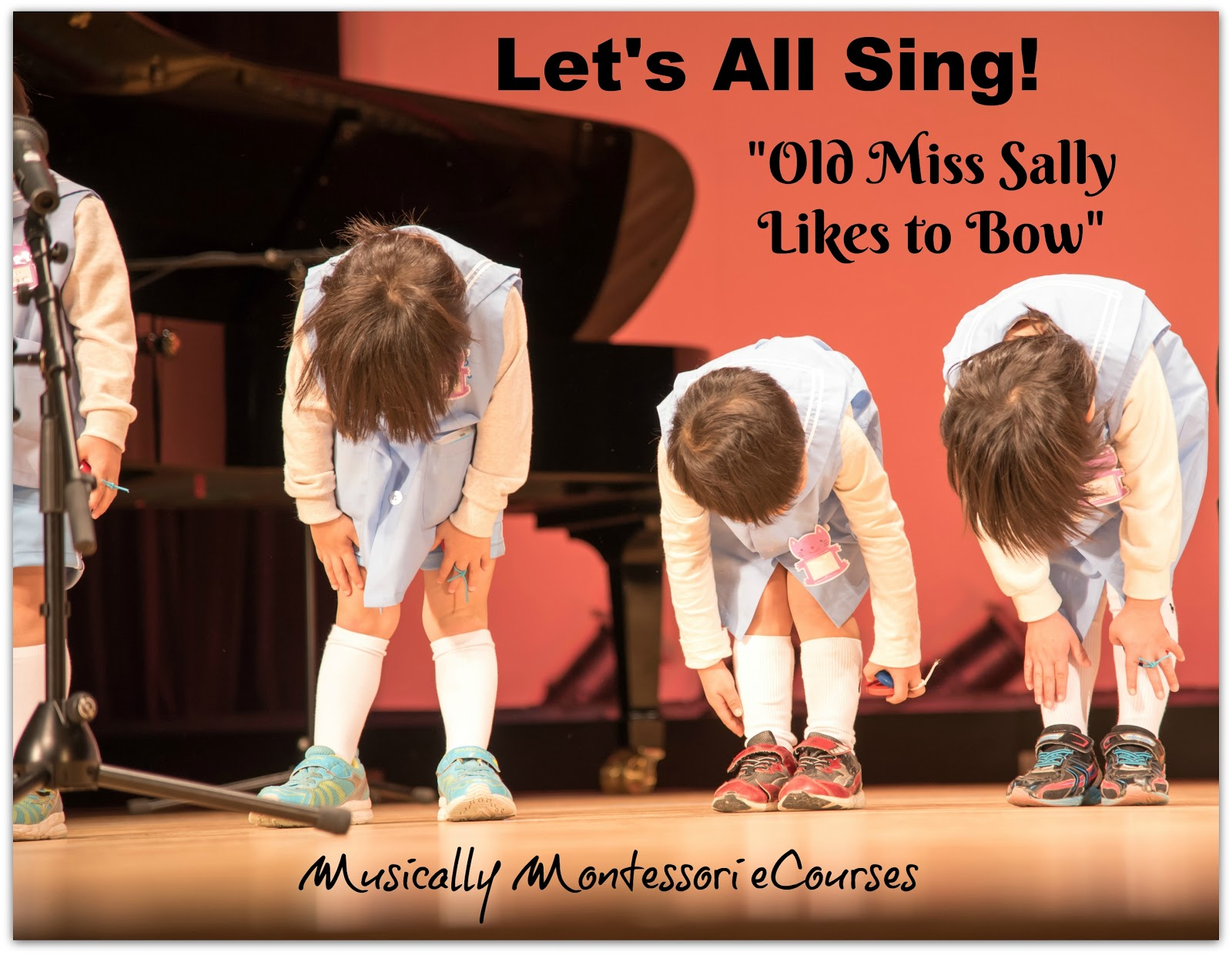 Musically Montessori Let's All Sing