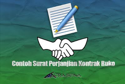 Contoh Surat Perjanjian Kontrak Ruko / Rumah Toko