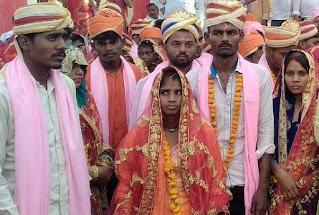 92 जोड़ों का हुआ सामूहिक विवाह   | #NayaSaberaNetwork