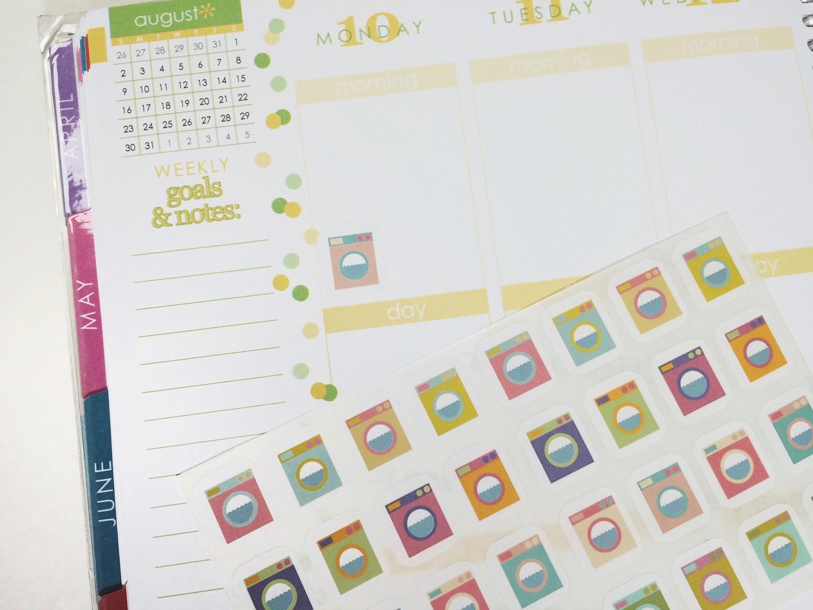 five sixteenths blog: Make it Monday // Create Planner