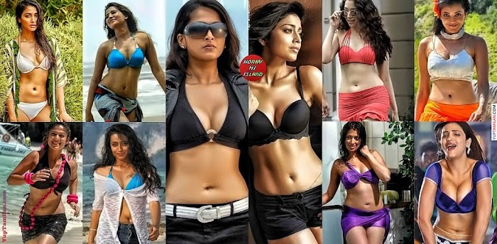 Top 15 South Indian Actress Bikini Images-Sexiest Bikini Pictures will shock you