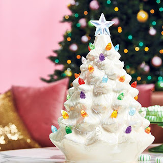 avon catalog Iconic Avon Vintage Inspired Light-Up Tree