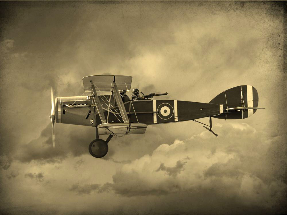 British World War One era fighter aircraft
