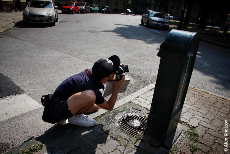 питьевой фонтан в Турине
