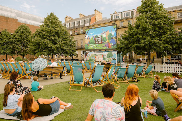 Free Outdoor Cinema in Newcastle | What's On at Screen on the Green
