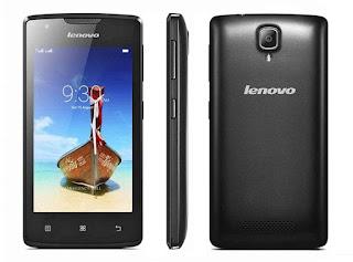 Harga Lenovo A1000 Terbaru, Dibekali Memori Internal 8 GB dan RAM 1 GB