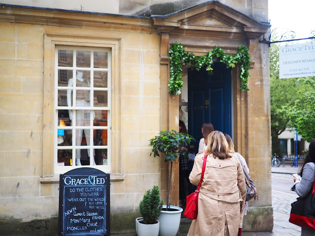 Independent shops and restaurants in bath, Somerset grace and ted
