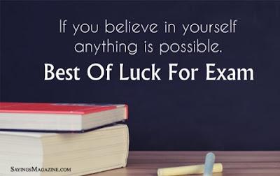 Exam Exam Quotes