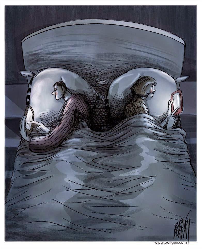 Angel Boligan - Sátira Surrealista | Celular na Cama