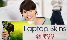 Laptop Skins just for Rs.99 Only @ Shopclues (Free Home Delivery)