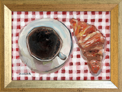 le-petite-dejeuner-french-croissant-coffee-oil-painting