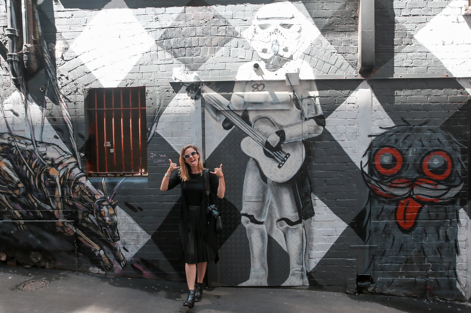 Street art in Melbourne Alicia Mara