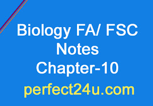 Biology Notes Fa Fsc Chapter No 10 Form and Function in plants