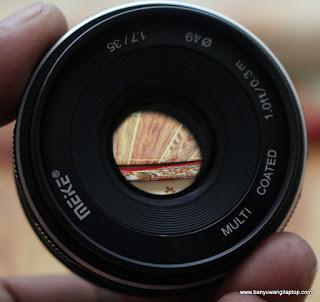 Jual lensa meike 35mm f1.7 For fujifilm - Banyuwangi