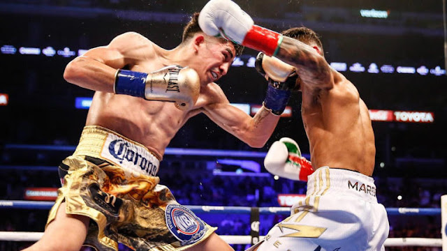 Leo Santa Cruz banishes Abner Mares via unanimous decision in thriller