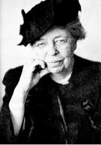 Happy October birthday Eleanor Roosevelt