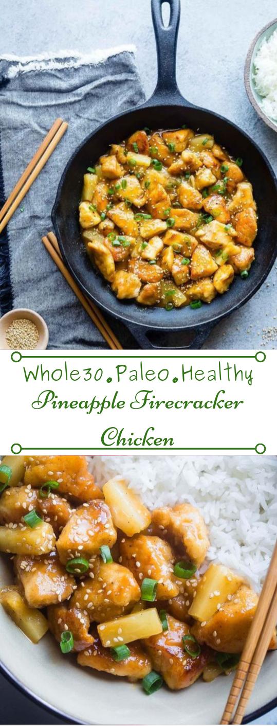 FIRECRACKER PINEAPPLE CHICKEN #diet #healthyrecipes #easy #pineapple #food