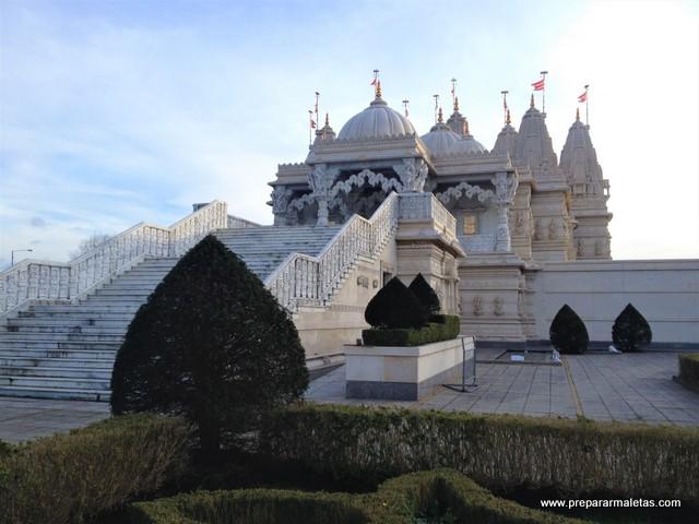 visitar el templo hindú de Londres en Neasden
