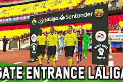 Pes 2017 - New Gate Entrance Laliga Santander (With Black Lives Matter Logo)
