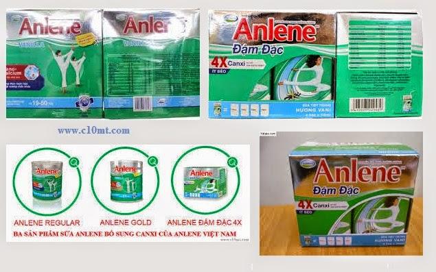 Hai cách dùng sữa Anlene đơn giản và thú vị www.c10mt.com