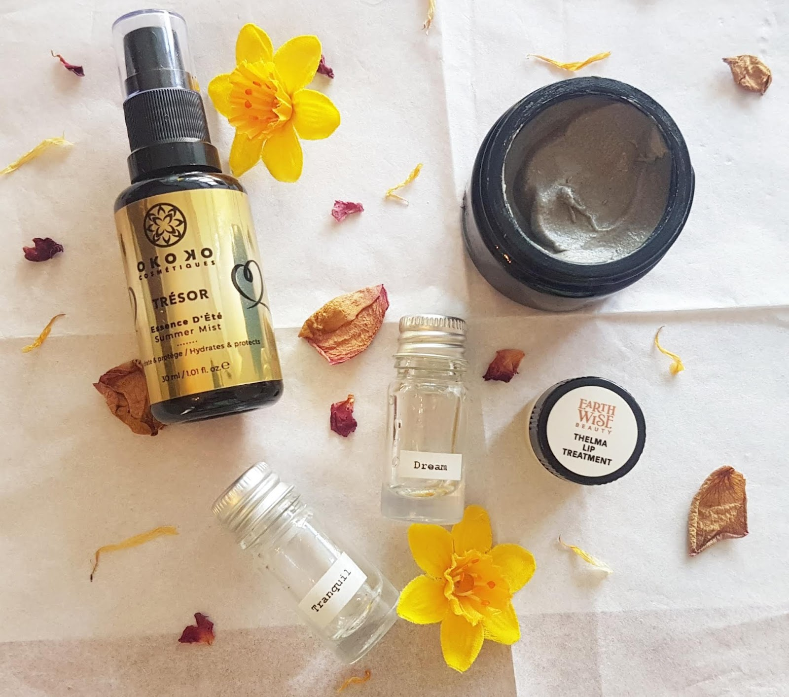 Green Beauty Summer Essentials - Okoko Cosmetiques, Inner Senses, Maison Meunier, Earthwise Beauty