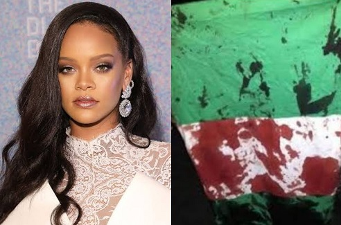 My heart is broken for Nigeria! Rihanna reacts to shooting