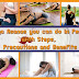 8 Yoga Asanas you can do in Periods with steps, precautions and benefits