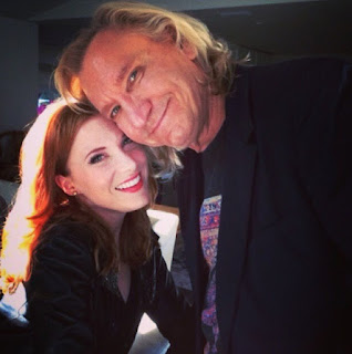 Joe Walsh with his daughter Lucy
