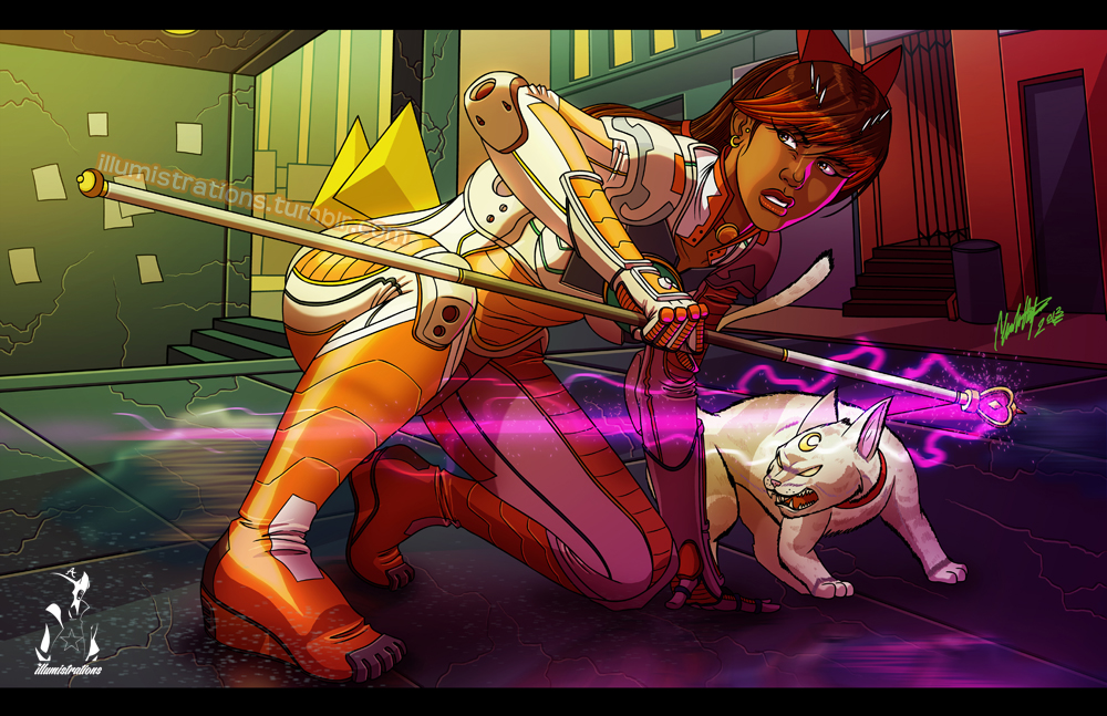 The Illuminate Darkness Experiment: Neo Sailor Venus & Artemis